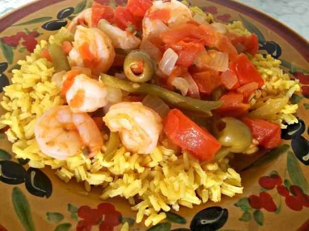 Shrimp Veracruz-Style (Camarones a La Veracruzana)