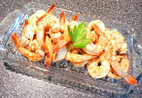 Grilled Salt & Pepper Shrimp