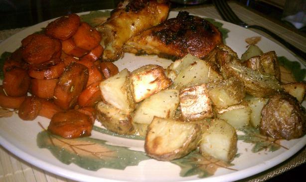Roasted Potatoes With Whole Garlic, Lemon and Oregano