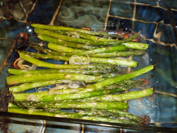Grilled or Roasted Asparagus With Balsamic
