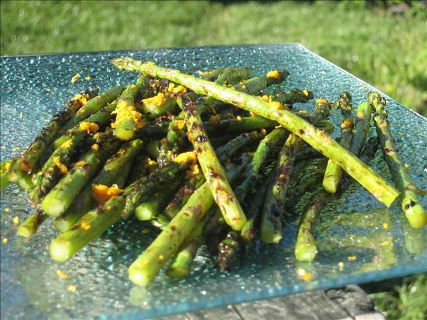 Sugar Grilled Asparagus