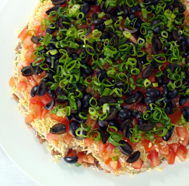 Gatorbek's 7 Layer Party Dip