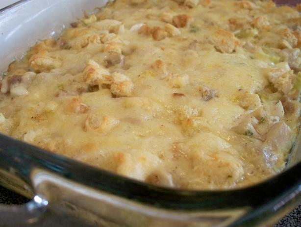 chicken swiss casserole