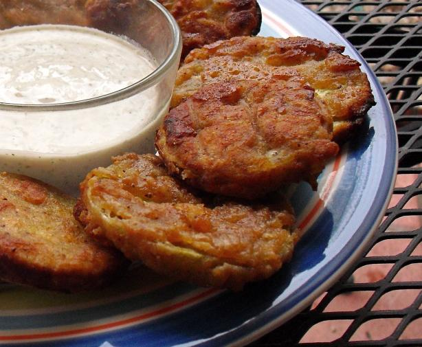 Old Bay Fried Green Tomatoes