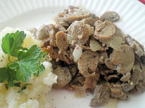 Mushroom Steak Topper