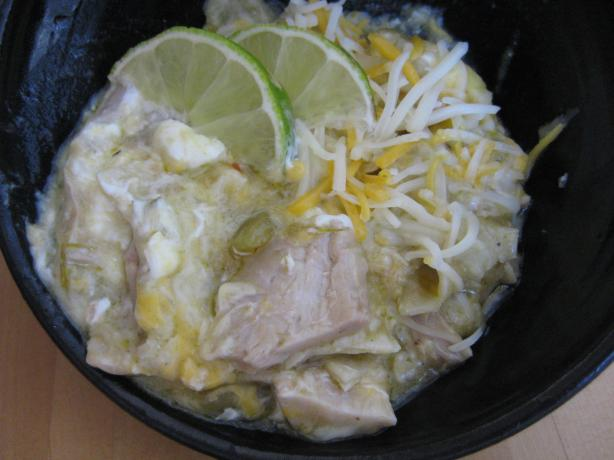 Layered Chicken Enchilada Suiza