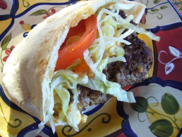 Greek-Style Burgers