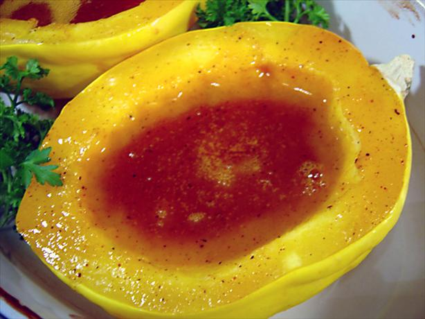 Orange-Glazed Acorn Squash