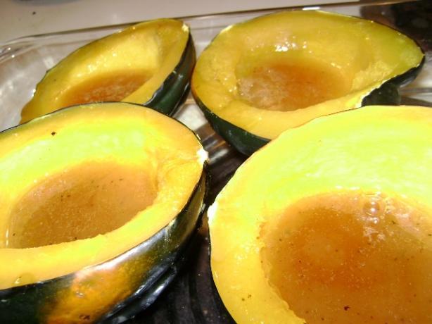 Orange-Glazed Acorn Squash