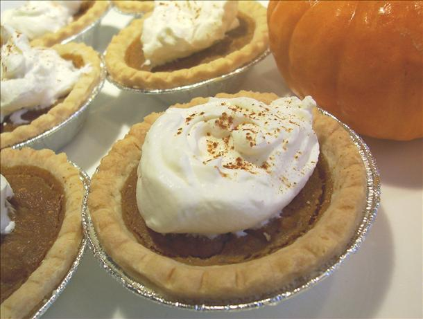 Light and Spicy Pumpkin Pie Tarts