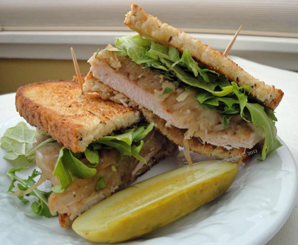 Pork Steak Sandwiches With Onions