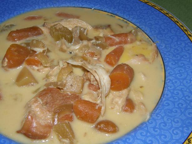 Cindy's Simple Cheesy Chicken Chowder