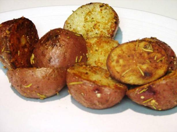 Roasted Baby Red Potatoes