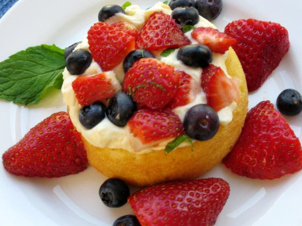 Limoncello and Lemon Cream Fruit Tart