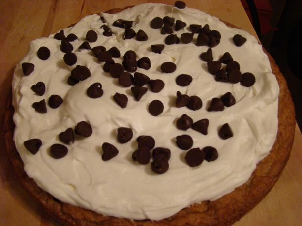 Chocolate Chip Cookie and Cream Tart