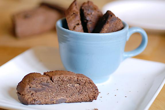Double Chocolate Mocha Biscotti