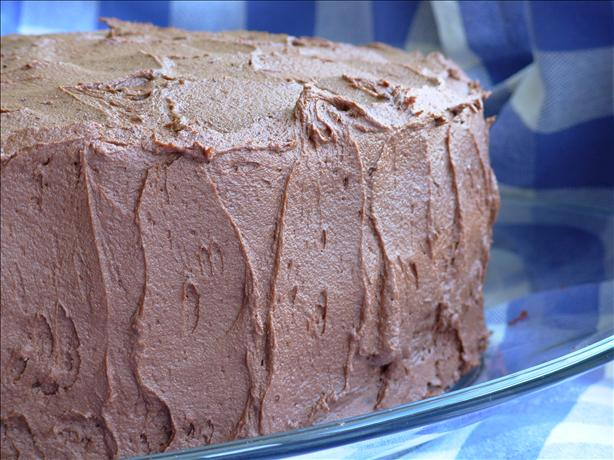 Kittencal's Best Deep Dark Chocolate Layer Cake