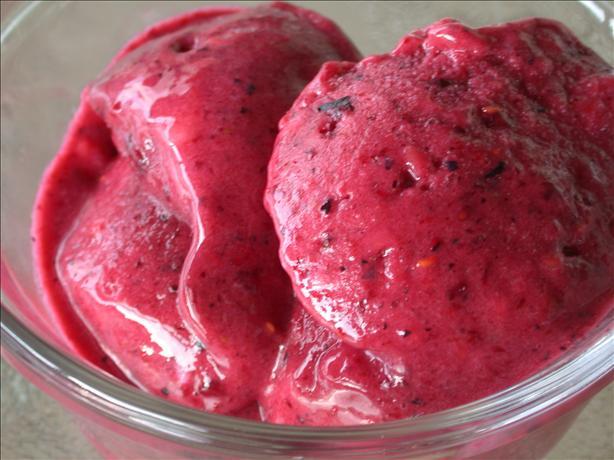 Fruit Frozen Yogurt