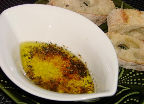 Crisco Herbed Parmesan Dipping Oil