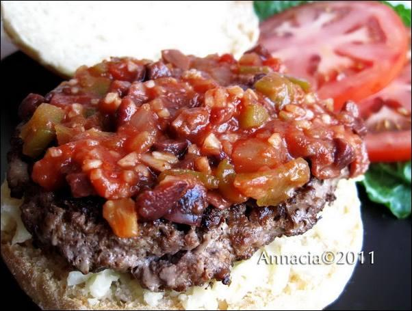 Spanish Sauce Burger Topping
