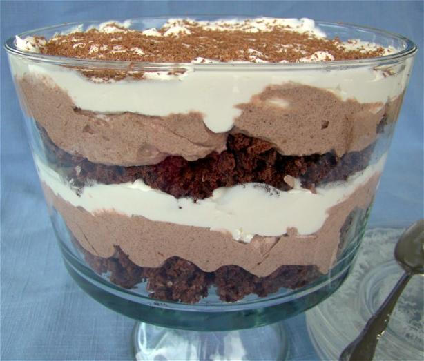 Low-Cal, Low-Fat Easy Chocolate Trifle