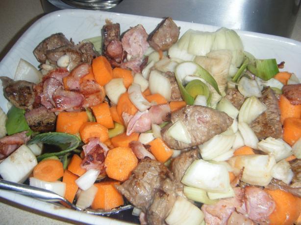 Matthews Irish Stew With Guinness, Dumplings and Colcannon Mash