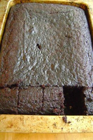 Don't Be Afraid of the Deep, Dark Pareve Chocolate Cake!