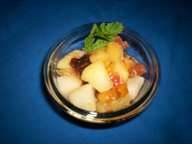 Dried and Fresh Fruit Compote