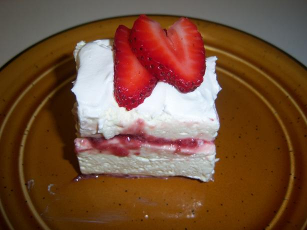 Lemon-Raspberry Mousse Squares