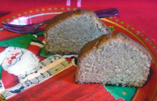 Brown Sugar Pound Cake -- 9x5x3-Inch Loaf Size