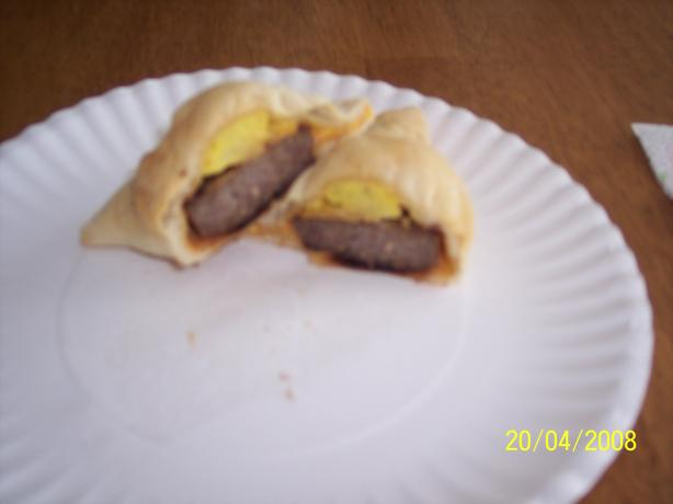 Sausage Egg Turnovers