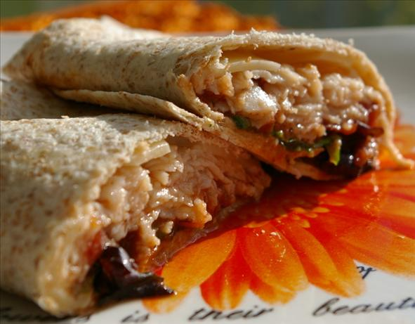 Chicken Tortilla Wrap Sandwich