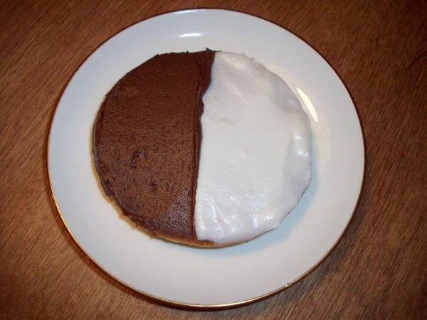 Half Moon Cookie Frosting