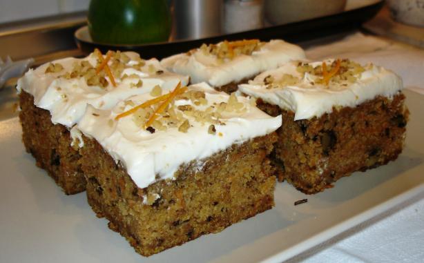 Buttermilk Glazed Carrot Cake