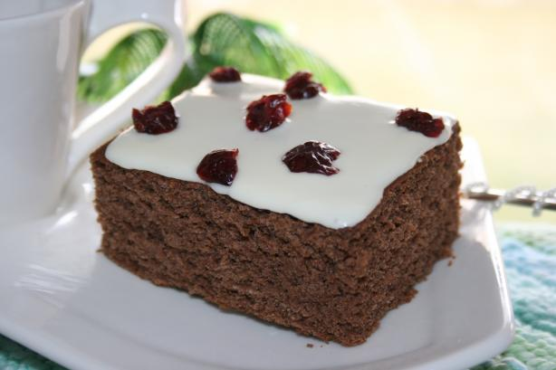 Gluten-Free Cranberry-Orange Beanie Cake