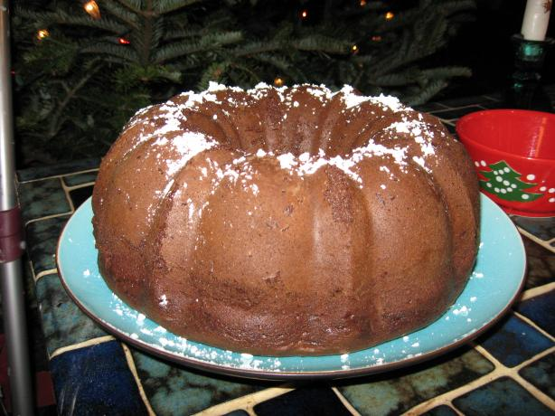 Rich Chocolate Kahlua Bundt Cake