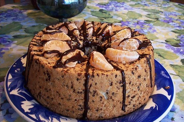 Paul Newman's Chocolate - Orange Angel Food Cake