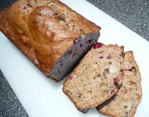 Cranberry Banana Bread (WW)