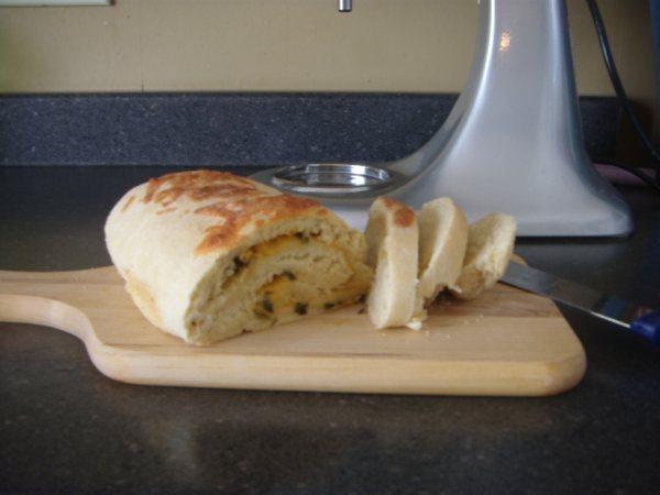 Onion Cheddar Quick Bread