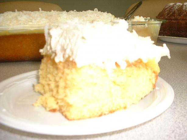 Cheryl's Decadent Pineapple, Pudding, Coconut Cake