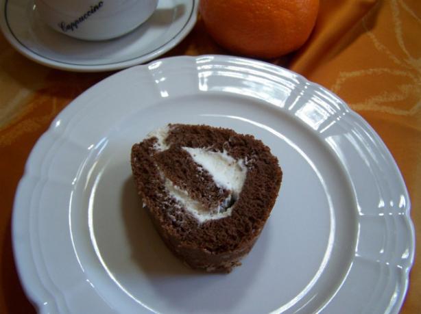Brazo De Gitano -- Rolled Sponge Cake (Spain)