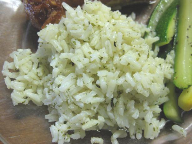 Savory Microwave Rice