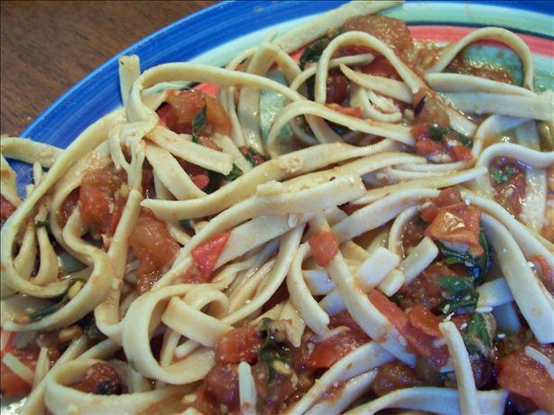 Balsamic Tomato-Basil Pasta