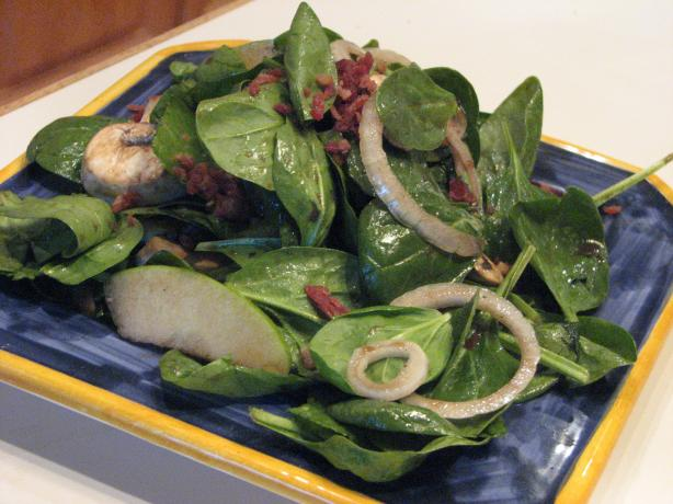 Spinach Apple Salad