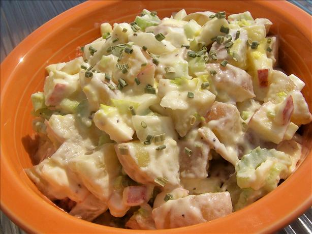 Potato, Apple, and Celery Salad