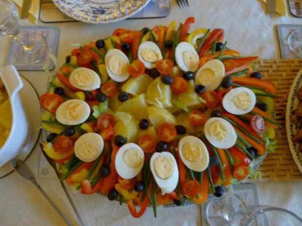 Smoked Salmon Salad (Nicoise-Style)