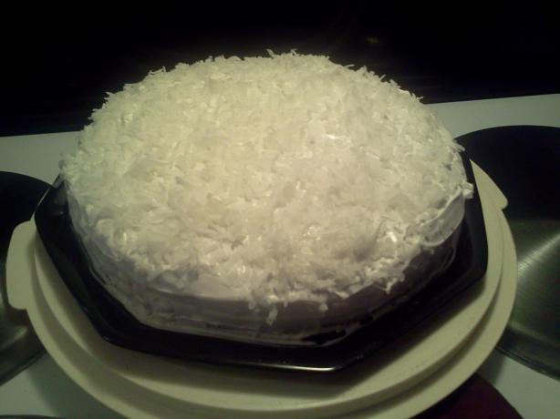 Super-Moist Coconut Cake