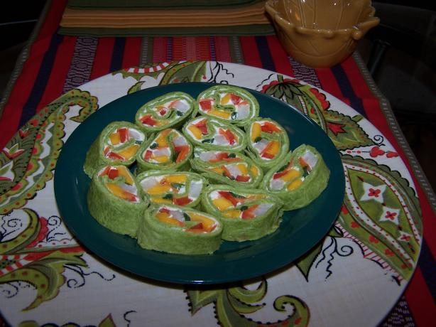 Mango Veggie Wrap/Roll Up