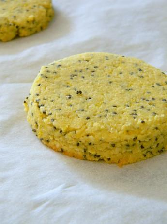 Gluten Free Lemon Poppy-Seed Cookies