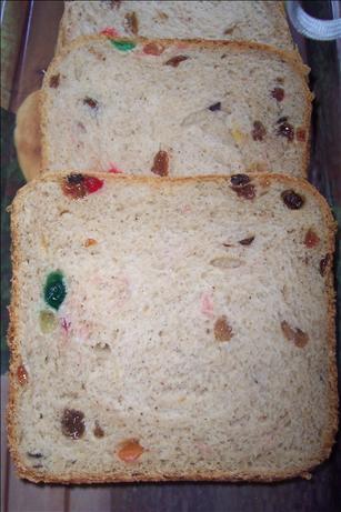 Rich Fruit Loaf Bread Machine